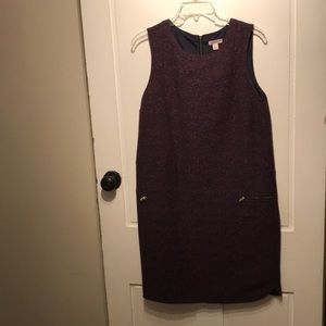 Sleeveless Merona Dress with Zipper Pockets